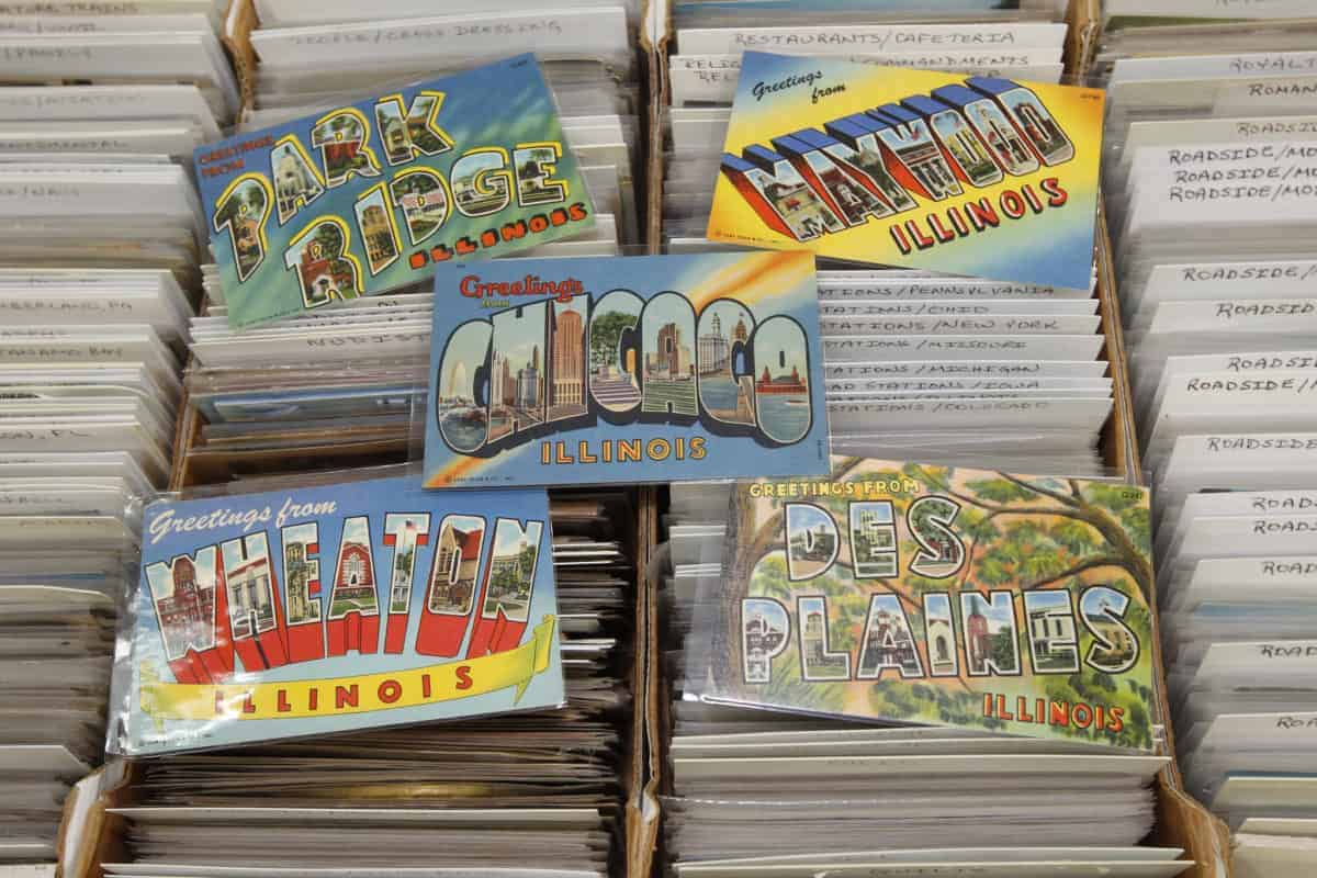 Grayslake Illinois Postcard and Paper Show