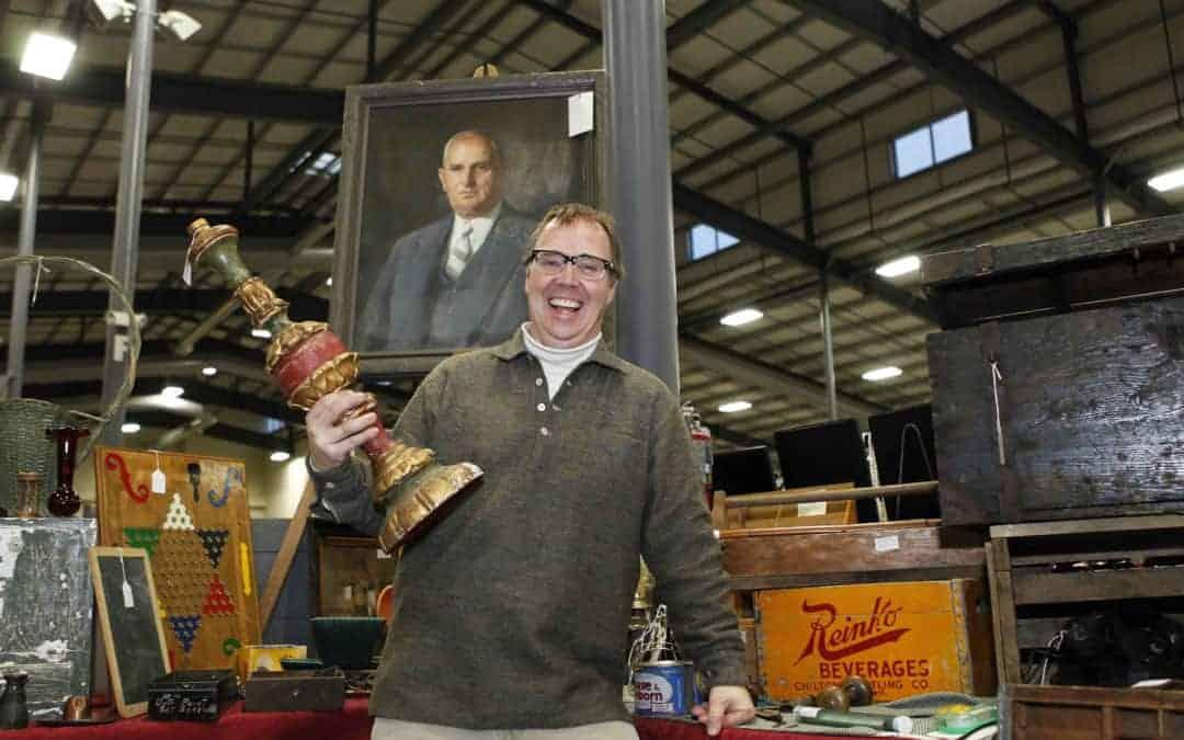 Grayslake Illinois Antique Market February 8 & 9