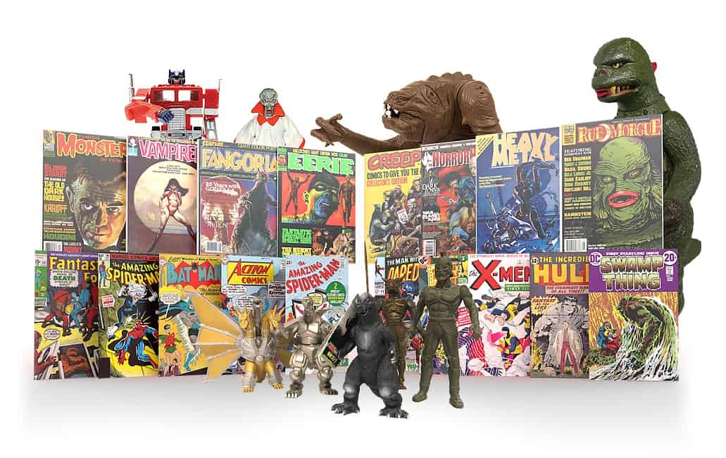 Toy, Comic Book, and Collectibles Show at Resch Expo November 27, 2021
