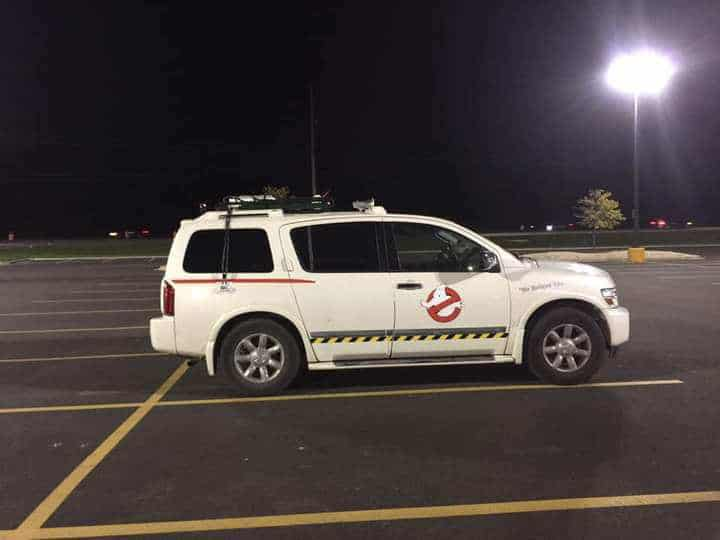 Ghostbuster Replica Car